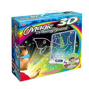 Tabla pentru desene 3D - Magic Drawing Board 3+