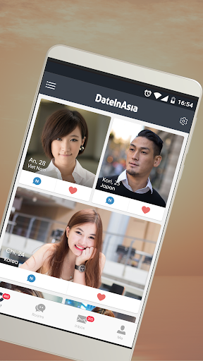 Date in Asia - Dating & Chat For Asian Singles 6.1.0 Screenshots 1