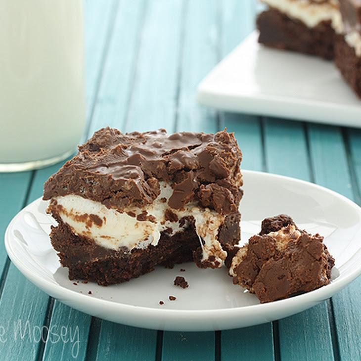 Crispy Peanut Butter Marshmallow Brownies
