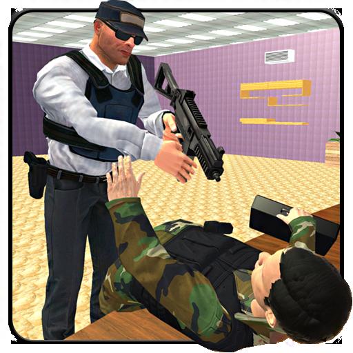 Bank Robbers Vs Secret Agent