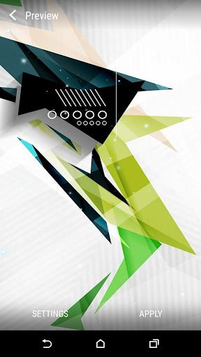 無料个人化Appの抽象概念ライブ壁紙|記事Game