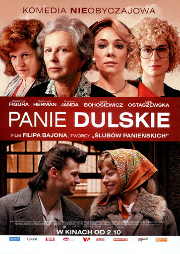 Przód ulotki filmu 'Panie Dulskie'