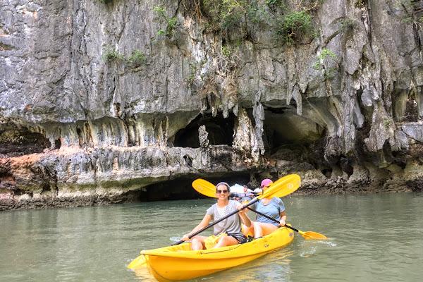 Paddle into sea caves and lagoons at Panak Island