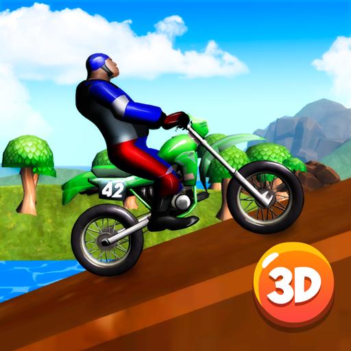 Motocross Bike Stunts Race 3D 賽車遊戲 App LOGO-APP開箱王