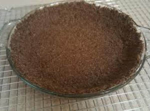 Chocolate Graham Cracker Pie Shell