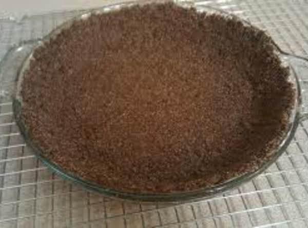 Chocolate Graham Cracker Pie Shell