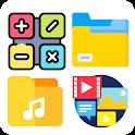 Calculator Locker - Photo, Video, Audio Hider Pro icon