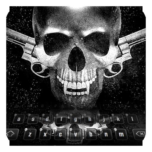 Skull & Gun Keyboard