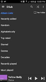 DSub for Subsonic Screenshot 5