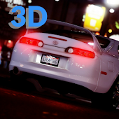 Supra Driving Toyota 3D