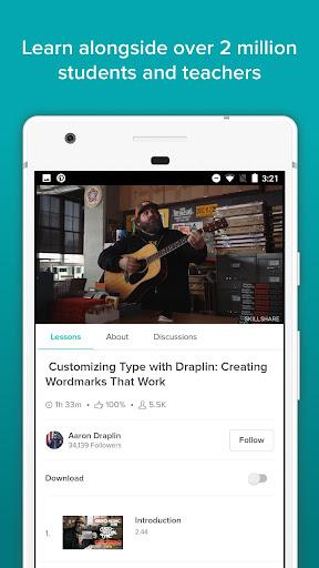 Skillshare - Online Learning 5.0.5.6 screenshots 1
