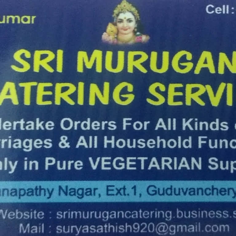 Sri Murugan catering service - Catering supplier in Chennai by more