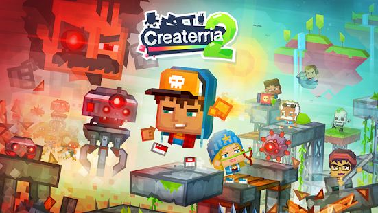 Createrria 2 craft your games! Screenshot