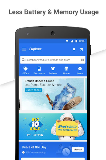 Flipkart Online Shopping App app (apk) free download for Android/PC/Windows screenshot