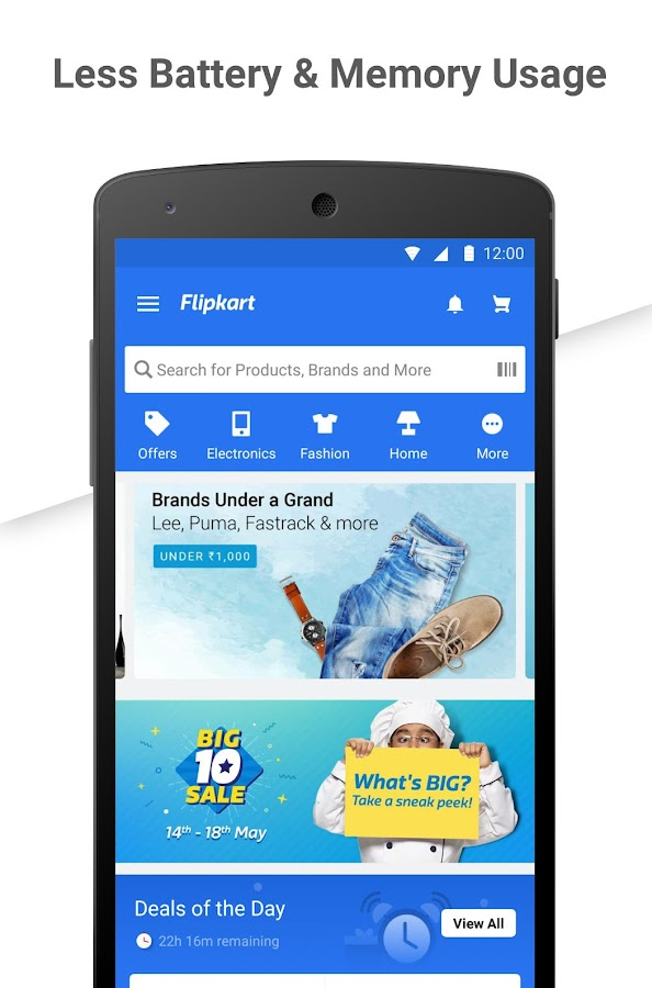 Flipkart Online Shopping App- screenshot