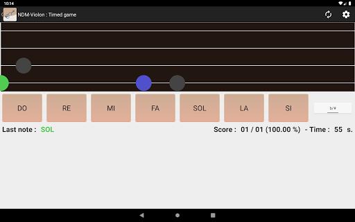 NDM - Screenshots der Violine (Lesen der Notenschrift lernen) 4