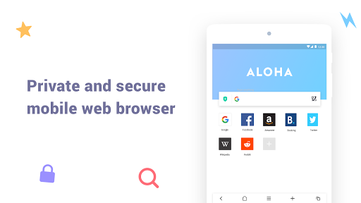 Aloha Browser Lite - Private browser and free VPN 1.6.5 Screenshots 9