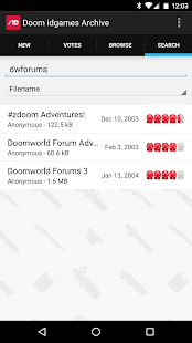 Doom idgames Archive- screenshot thumbnail