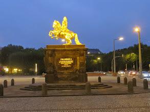 Photo: Dresden, Goldener Reiter