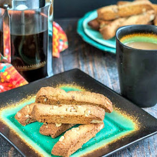 Gluten Free Maple Walnut Biscotti (low carb, dairy free).