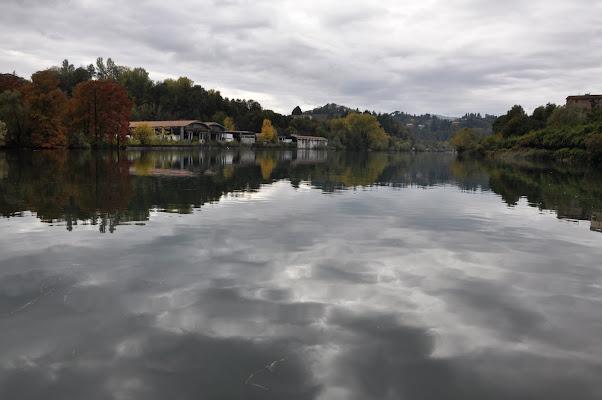 nuvole nel lago di Dario Marzanni