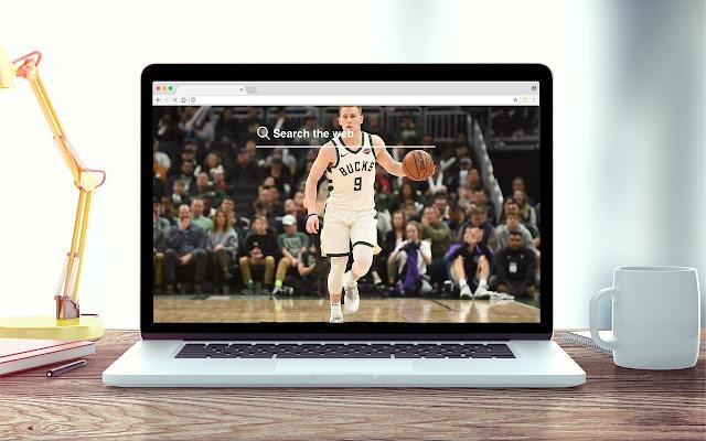 Donte DiVincenzo New Tab NBA Theme