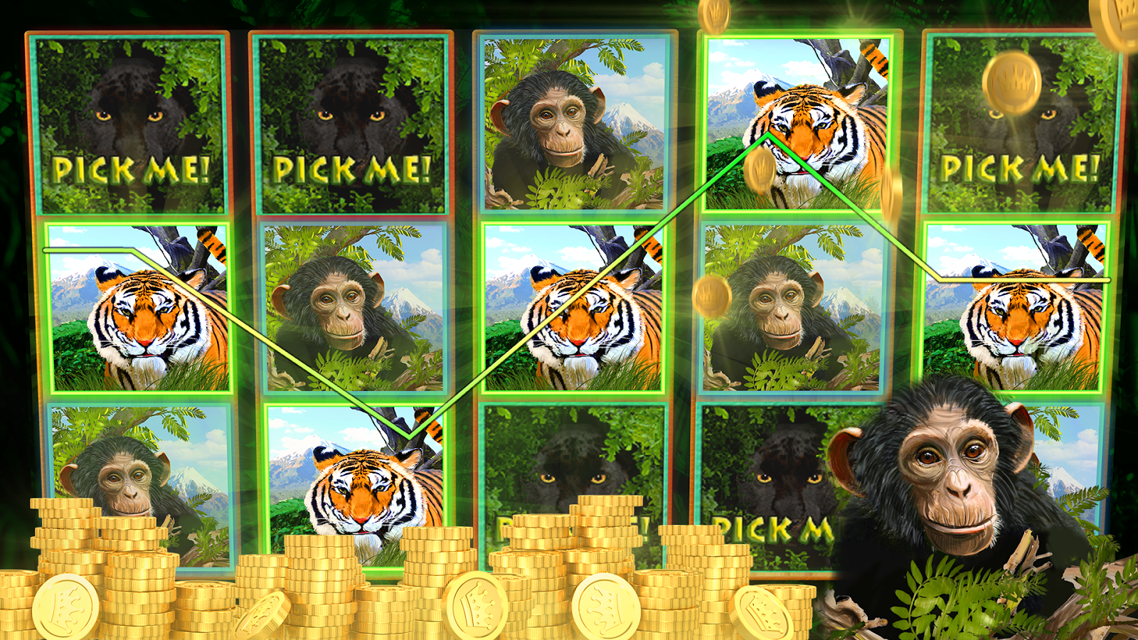 Deep Jungle Slot Machines- screenshot