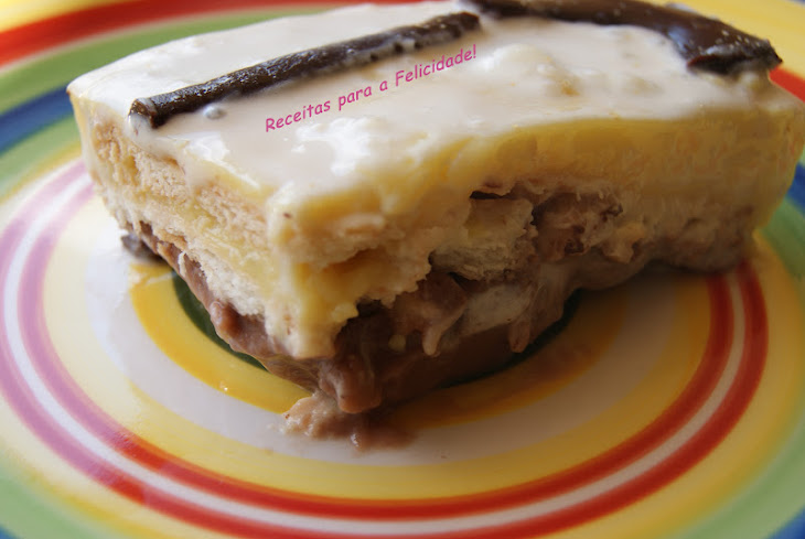 Chocolate and Vanilla Mille-Feuille Pudding Recipe