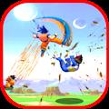 Goku Saiyan  Super Fight World Z