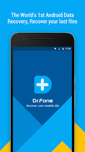 Dr.Fone - Recover deleted data- screenshot thumbnail