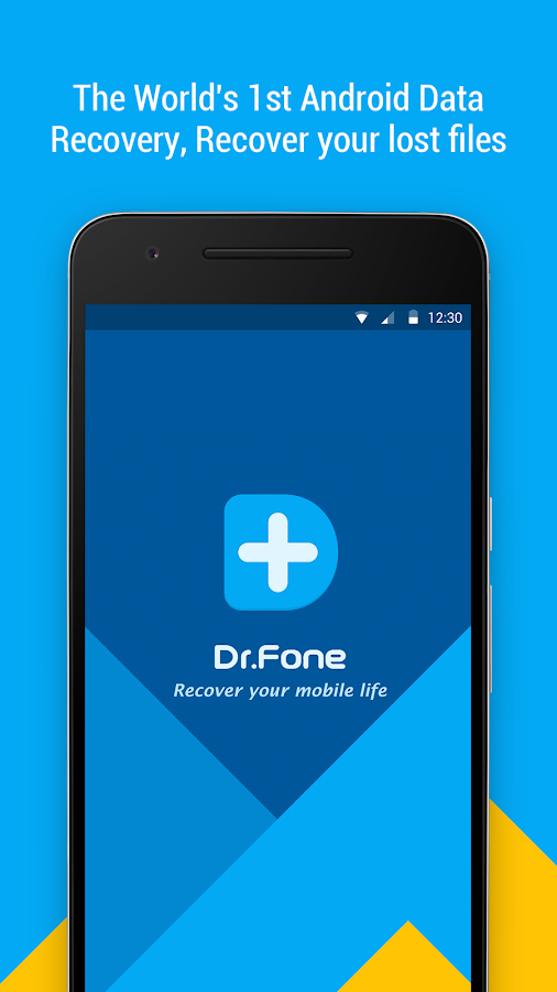 Dr.Fone - Recover deleted data- screenshot