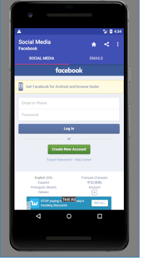 Popular Social media and Emails 1.0.0.4.0 screenshots 3