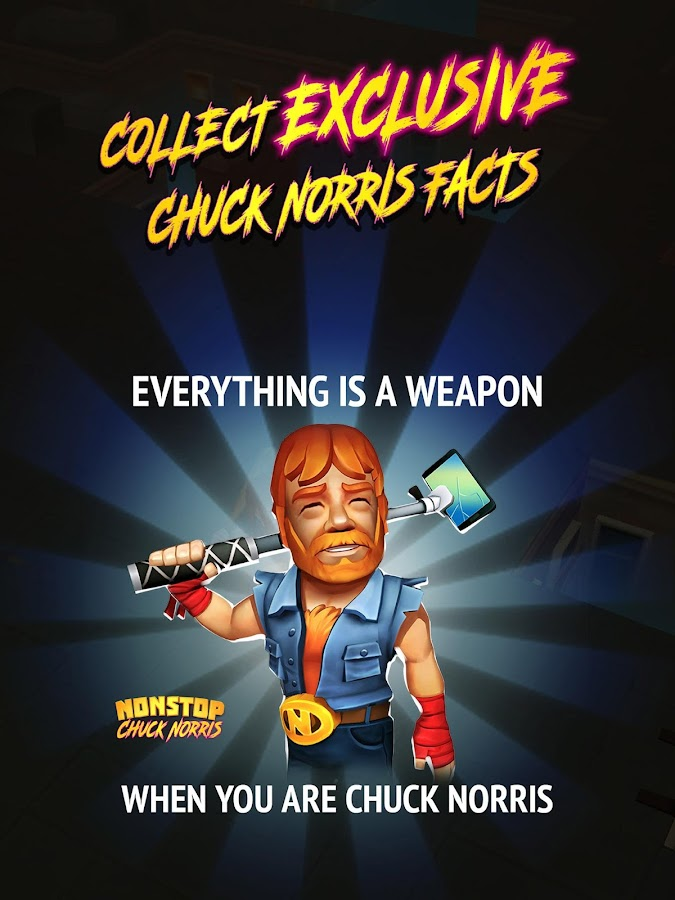Nonstop Chuck Norris- screenshot