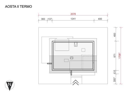 Aosta II Termo - Sytuacja