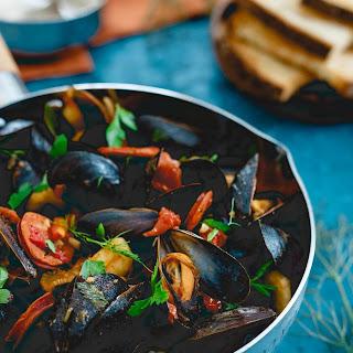Chorizo Chili Mussels.