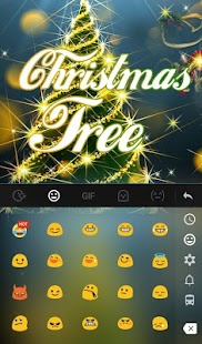 Live 3D Christmas Tree Keyboard Theme- screenshot thumbnail