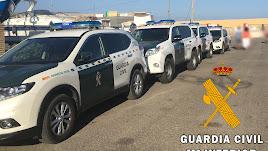 La Guardia Civil acudió tras recibir la llaada a través del teléfono 062