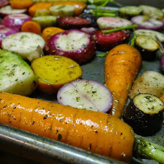 Sorghum Glazed Roasted Carrots