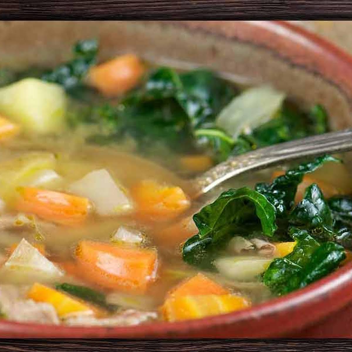 Super  sparkle Kale Soup