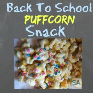 Back To School Puffcorn Snack