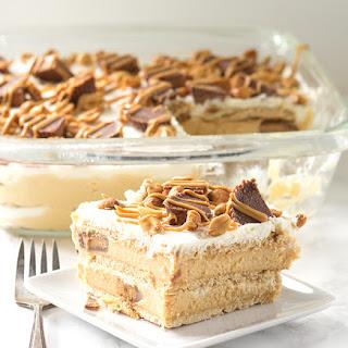 Peanut Butter Ice Box Cake