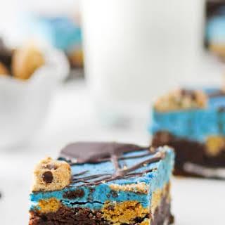 Cookie Monster Brownies.