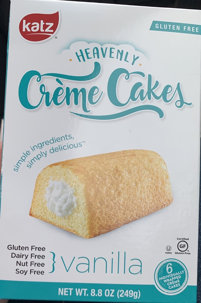 Heavenly Creme Cakes