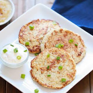 Hungry Girl's Cauliflower Latkes.