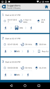 OASA Telematics screenshot 6