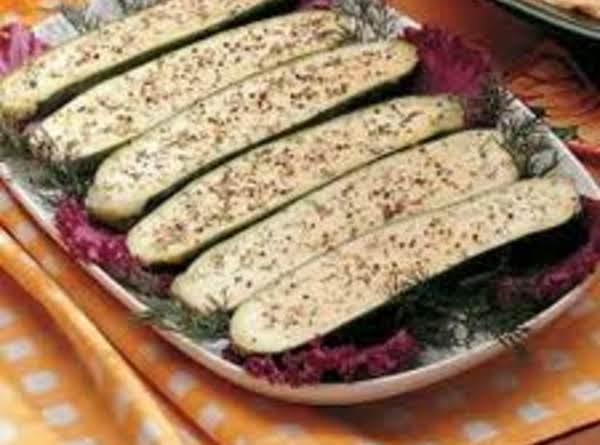 Dilled Zucchini Recipe