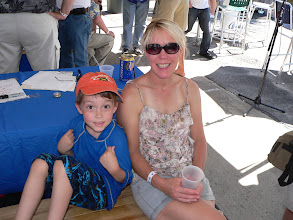Photo: Drummer Dave's Mom and son
