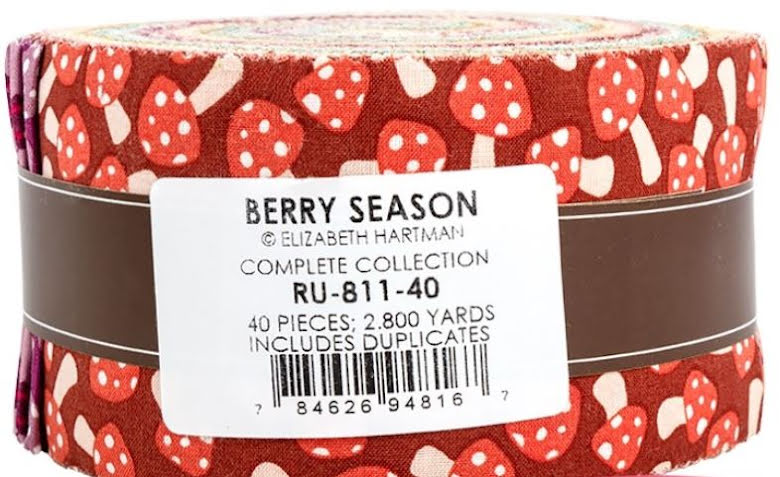 Berry Season by Robert Kaufman, Jelly Roll (11404)