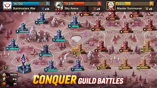 Summoners War Mod Apk (Instant Win/Damage/HP) 6