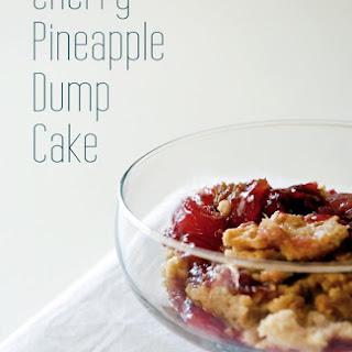 Cherry Pineapple Dump Cake.